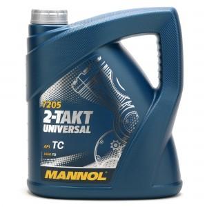 MANNOL 2-Takt Universal mineralisches Motorrad Motoröl 4l