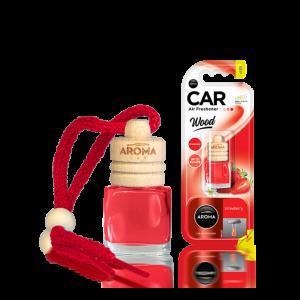 Aroma Car Lufterfrischer Wood Strawberry
