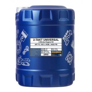 MANNOL 2-Takt Universal mineralisches Motorrad Motoröl 10l