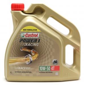 Castrol Power 1 Racing 4T 10W-50 Motorrad Motoröl 4l Kanne