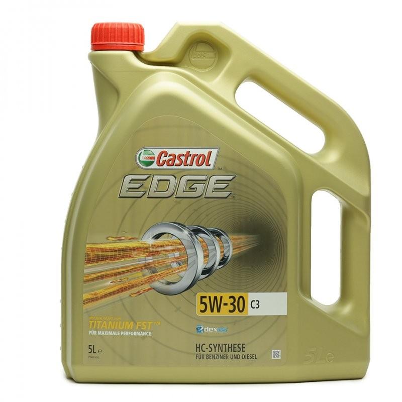 Castrol Edge 5W-30 C3 Titanium FST Motoröl 5l