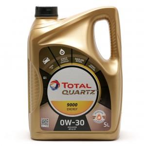 TOTAL Quartz Energy 9000 0W-30 Motoröl 5l