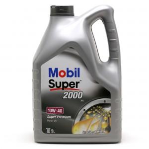 Mobil Super 2000 X1 10W-40 Diesel & Benziner Motoröl 5Liter