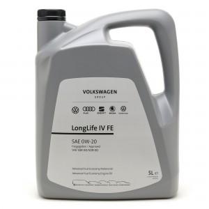 Original VW Longlife GS60577M4 IV 0W-20 Motoröl 508.00/ 509.00 - 5l