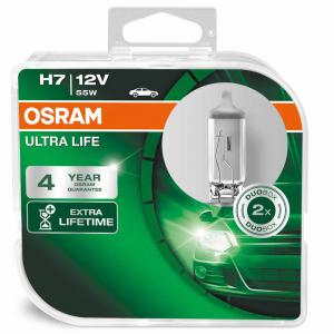 Osram H7 12V 55W PX26d ULTRA LIFE 2st.