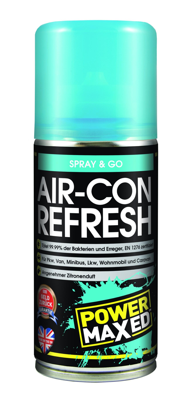 Power Maxed Air-Con Refresh Klimaanlagen Desinfektion 150ml