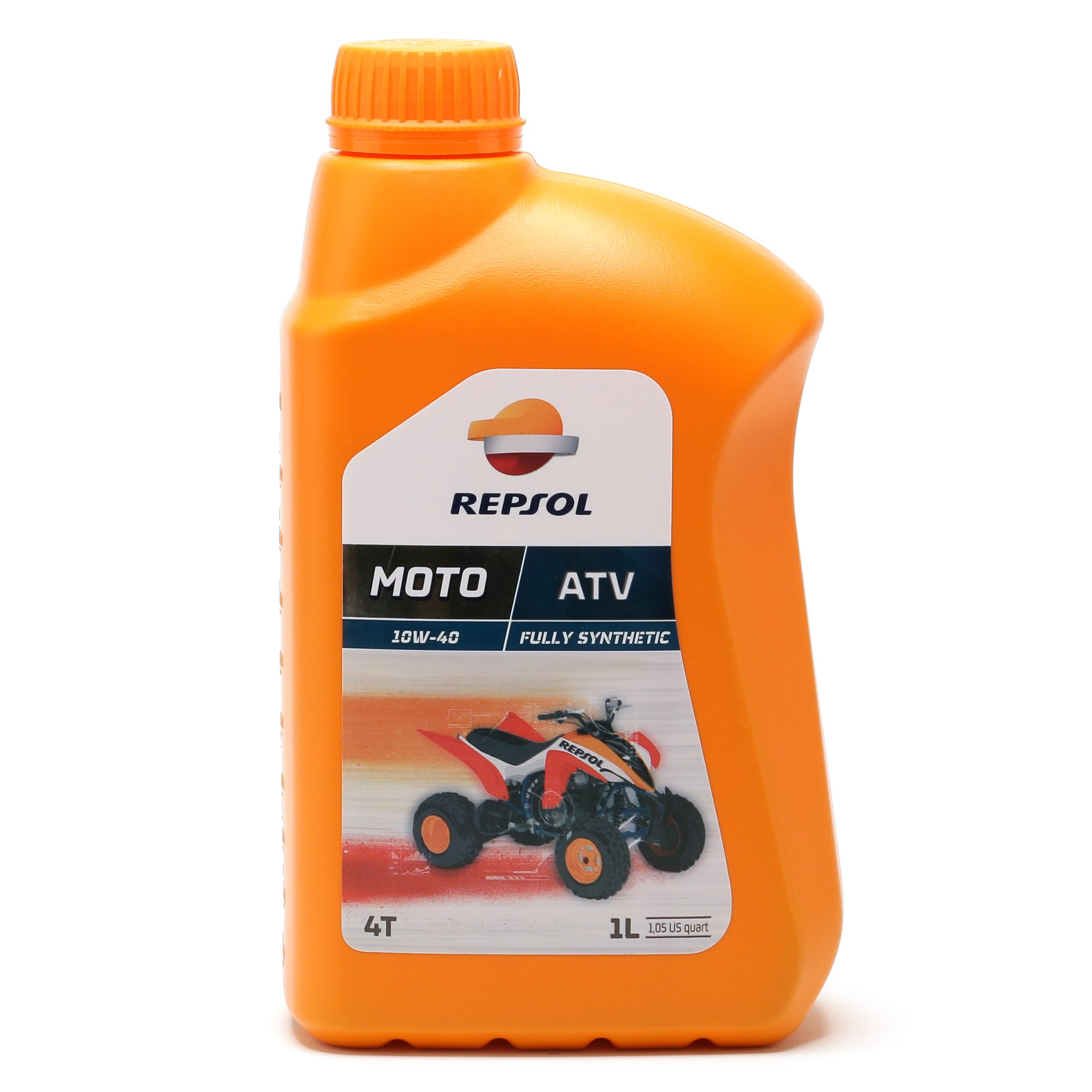 Repsol Motorrad Motoröl MOTO ATV 4T 10W40 1 Liter
