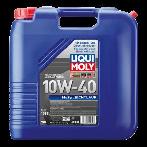 Liqui Moly MoS2 Leichtlauf 10W-40 Diesel & Benziner Motoröl 20Liter Kanister