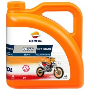 Repsol Motorrad Motoröl MOTO OFF ROAD 4T 10W40 4 Liter