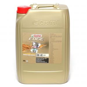 Castrol Edge Titanium FST 0W-40 A3/B4 Motoröl 20l Kanister