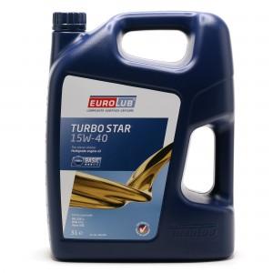 Eurolub Turbo Star 15W-40 Motoröl 5l
