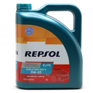 Repsol Motoröl ELITE EVOLUTION ECO V 0W-20 5 Liter