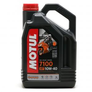 Motul 7100 ester 10W-40  4T Motorrad Motoröl 4l