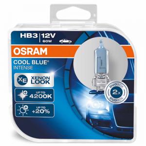 Osram HB3 12V 60W P20d CoolBlue INTENSE 2st. Osram