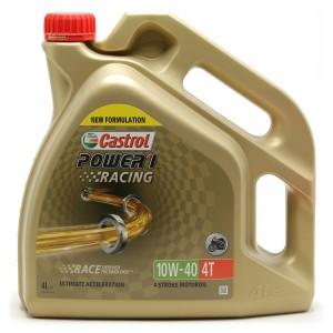 Castrol Power 1 Racing 4T 10W-40 Motorrad Motoröl 4l Kanne