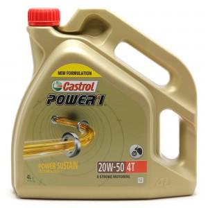 Castrol Power 1 4T 20W-50 Motorrad Motoröl 4l Kanne