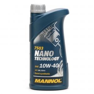 MANNOL Nano Technology 10W-40 Diesel & Benziner Motoröl 1Liter