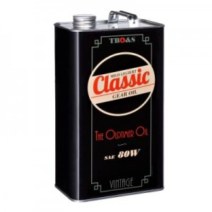 TBO&S Classic Getriebe Öl SAE 80 für Oldtimer 5 Liter