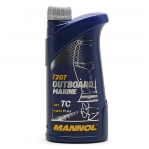 MANNOL Outboard Marine TCW3 Motoröl 1l