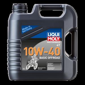 Liqui Moly 3062 Motorbike 4T 10W-40 Basic Offroad 4l