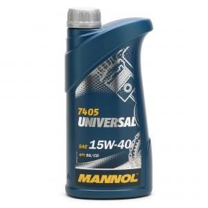 Mannol Universal 15W-40 Motoröl 1l