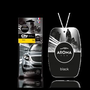 Aroma Car Lufterfrischer City Black