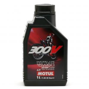 Motul 300V 4T Factory Line 15W60 Off Road Motorrad Motoröl 1l