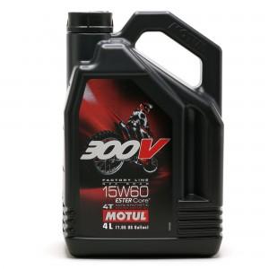 Motul 300V 4T Factory Line 15W60 Off Road Motorrad Motoröl 4l