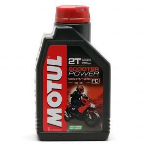 Motul Scooter Power 2T ester vollsynthetisches Motorrad Motoröl 1l