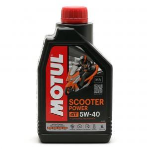 Motul Scooter Power 4T 5W-40 MA Motorrad Motoröl 1l
