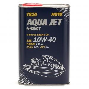 MANNOL 7820 Aqua Jet 4-Takt 10W-40 Motorrad Motoröl 1l