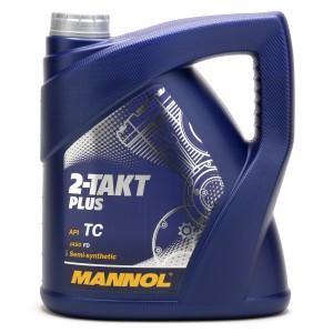 MANNOL 2-Takt Plus teilsynthetisches Motorrad Motoröl 4l