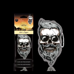 Aroma Car Lufterfrischer Dia de los Muertos Oud & Pepper Skull
