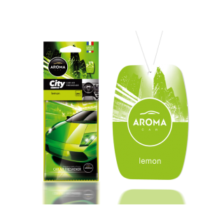 Aroma Car Lufterfrischer City Lemon