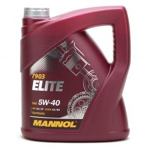 MANNOL Elite 5W-40 Motoröl 4l