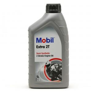 Mobil Extra 2T teilsynthetisches Motorrad Motoröl 1l