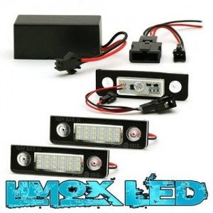 LED Modul Kennzeichenbeleuchtung Skoda Octavia 1Z Roomster 5J
