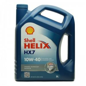 Shell Helix HX7 10W-40 Motoröl 5l