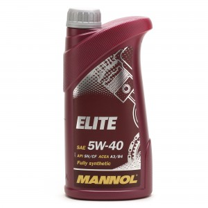 MANNOL Elite 5W-40 Motoröl 1l