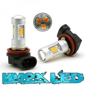 LED Nebelscheinwerfer Birne Lampe H11 4G Orange