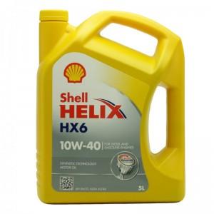 Shell Helix HX6 10W-40 Diesel & Benziner Motoröl 5Liter