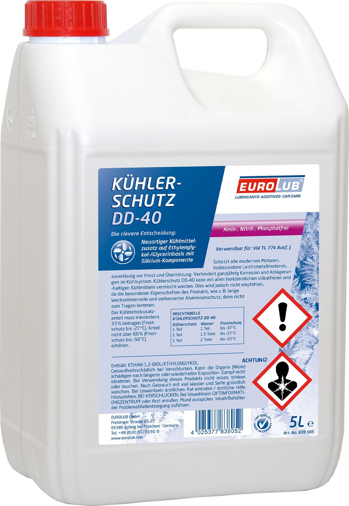 Eurolub Kühlerschutz DD-40 Konzentrat 5l