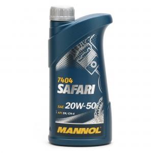 MANNOL Safari 20W-50 Motoröl 1l
