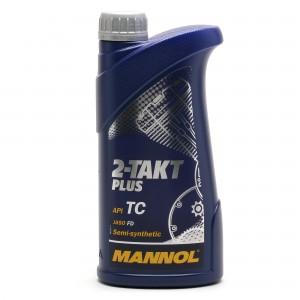 MANNOL 2-Takt Plus teilsynthetisches Motorrad Motoröl 1l