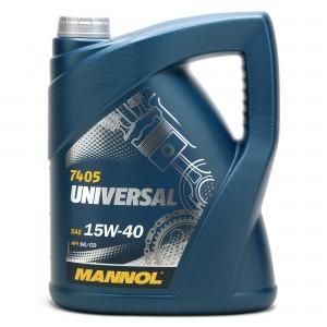 Mannol Universal 15W-40 Motoröl 5l