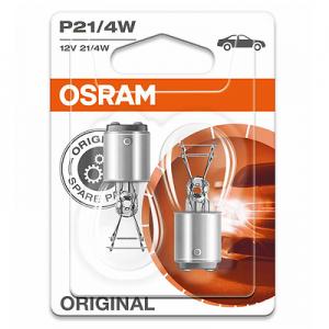 Osram P21/4W 12V 21/4W BAZ15d 2st. Blister Osram