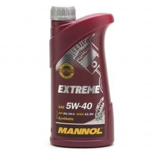 MANNOL Extreme 5W-40 Motoröl 1l