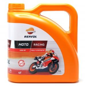 Repsol Motorrad Motoröl MOTO RACING 4T 10W-50 4 Liter