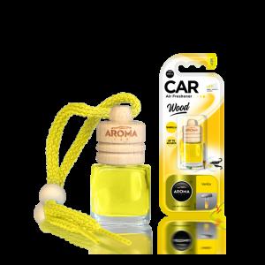 Aroma Car Lufterfrischer Wood Vanilla