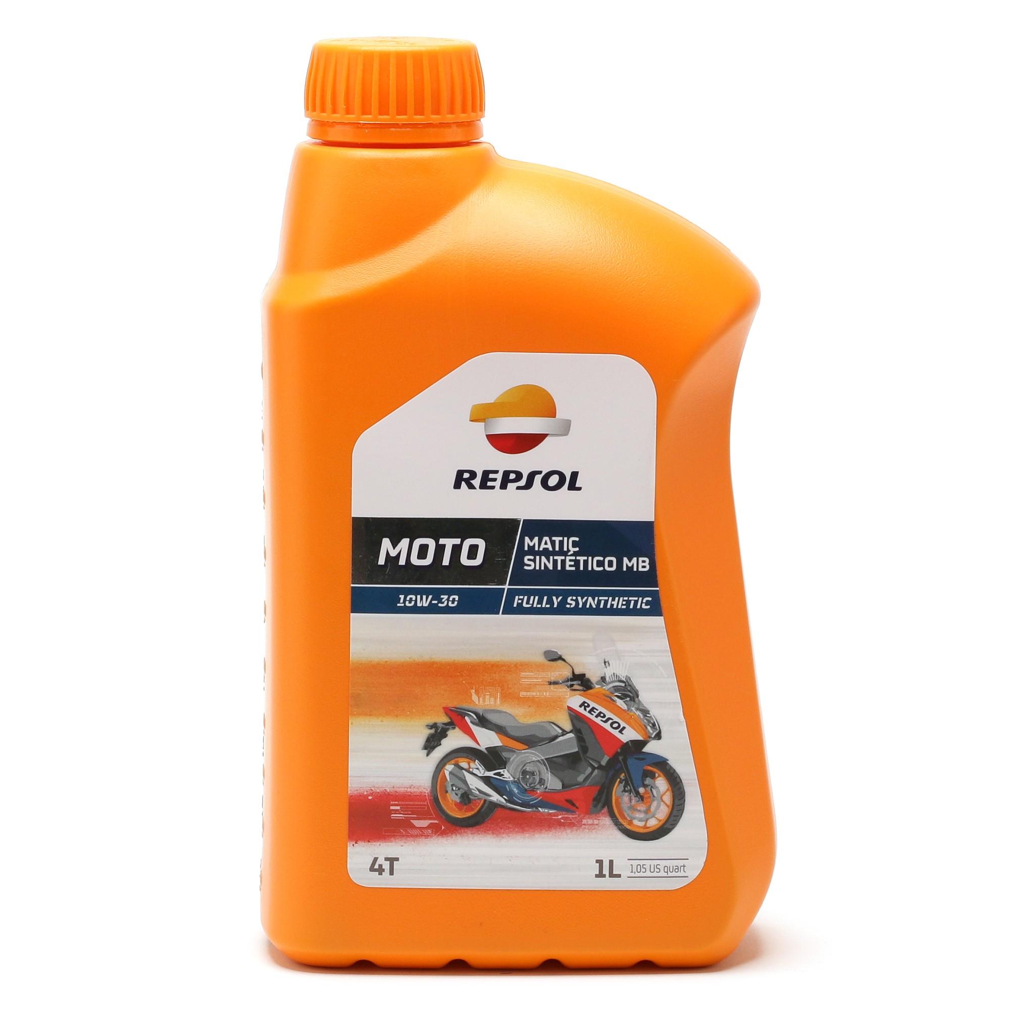 Repsol Motorrad Motoröl MOTO MATIC SINTETICO MB 4T 10W30 1 Liter